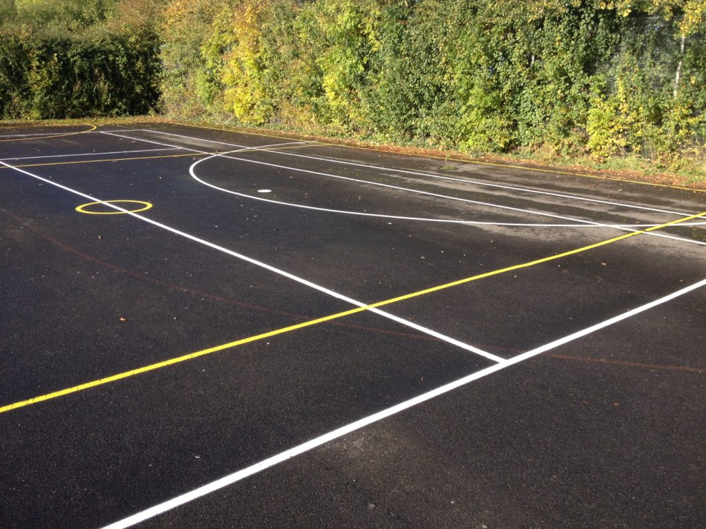 Sports Court Marking